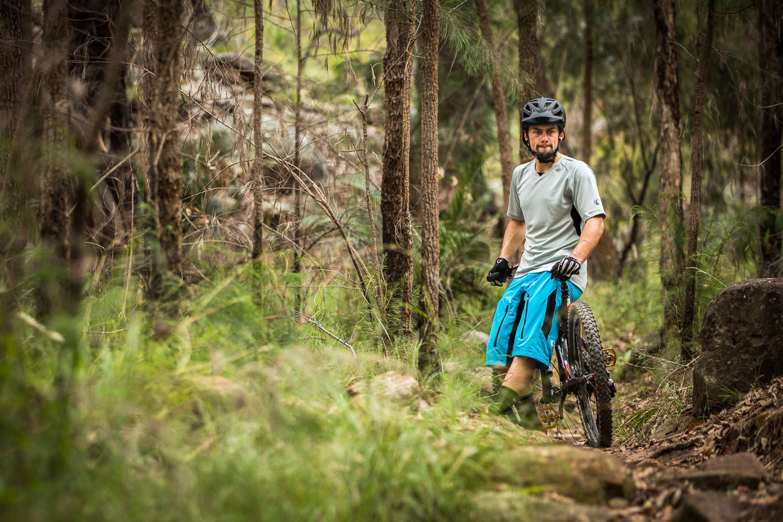 Australian rep 4cross MTB racer, Blake Nielsen