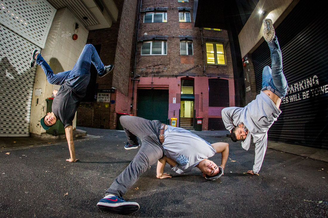 Cypher Dance Crew, Sydney, Richard McGibbon Photography