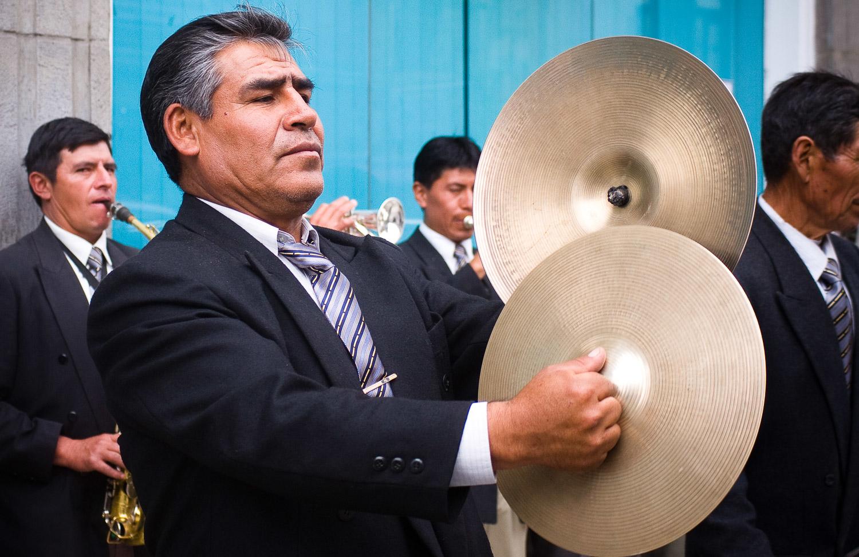 Street Musicians, Rio Bamba, Ecuador