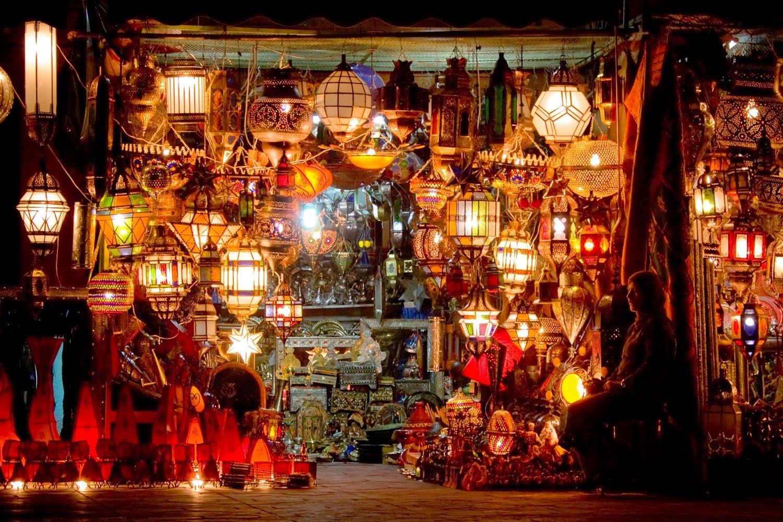 Light Seller, Marrakesh, Morocco