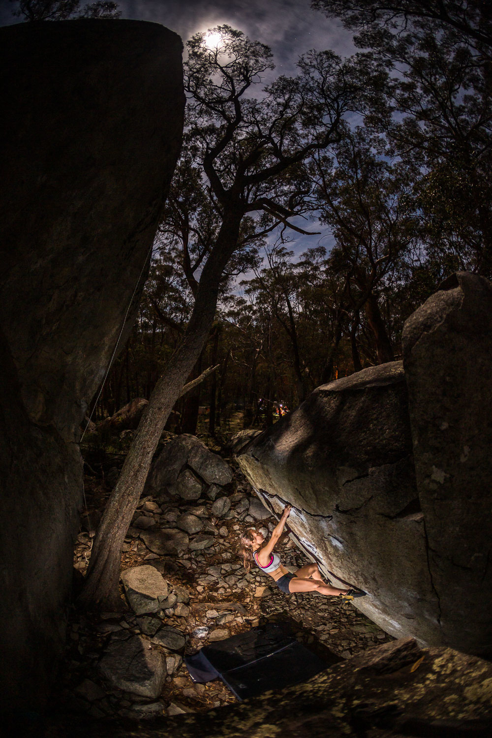 Rosalyn Blake, Bouldering, North Black Range