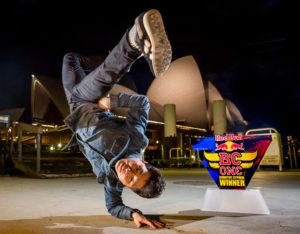 B-boy Blue, Australian BC One qualifier
