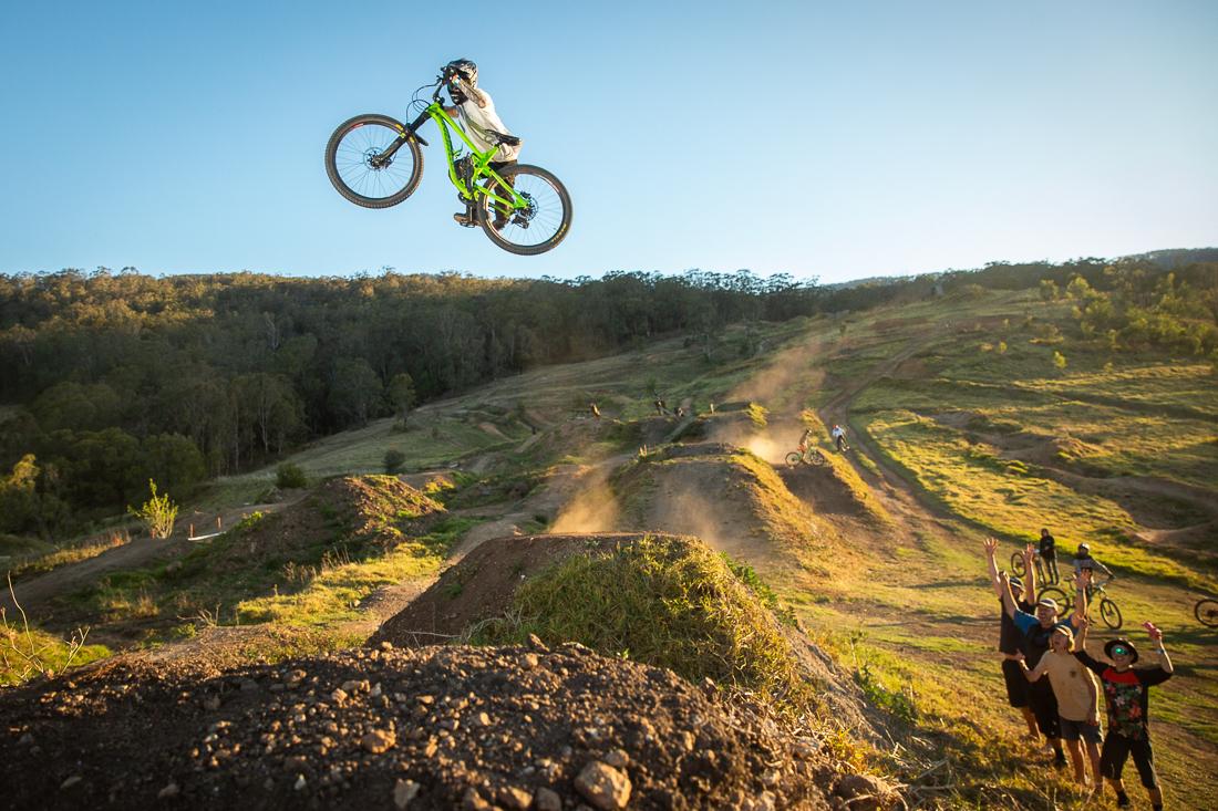 Mike Ross, Greenvalleys Mountain Bike Park