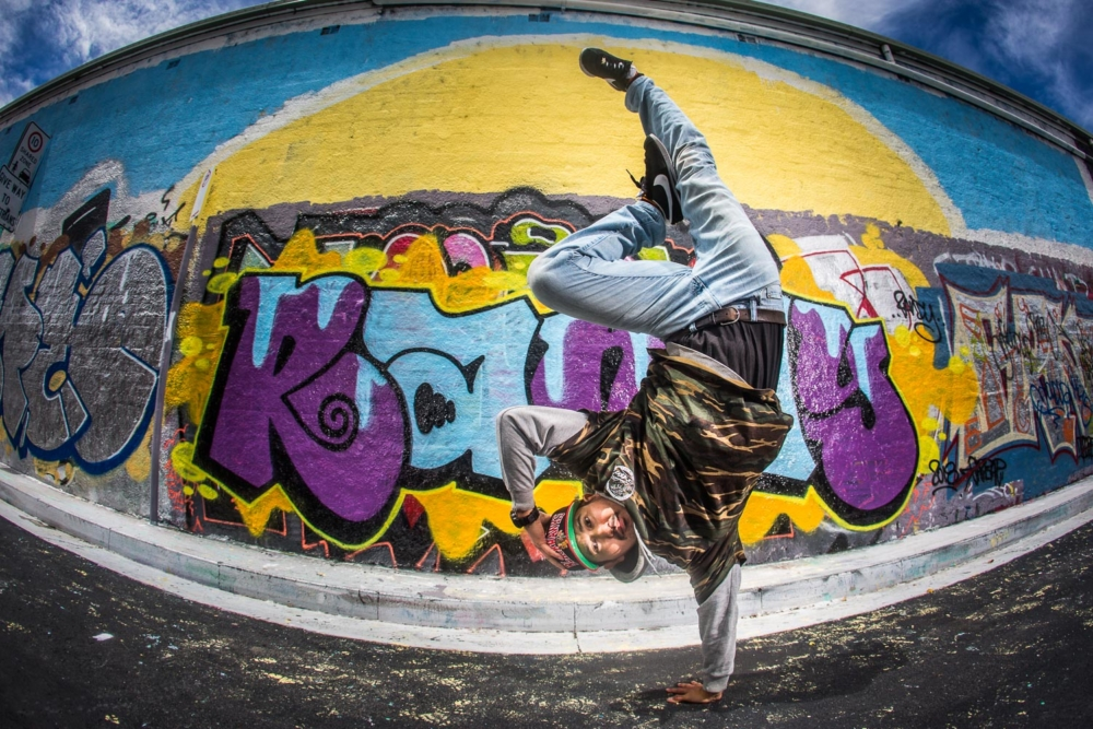 Hideboo Shin, B-boy, St. Peters