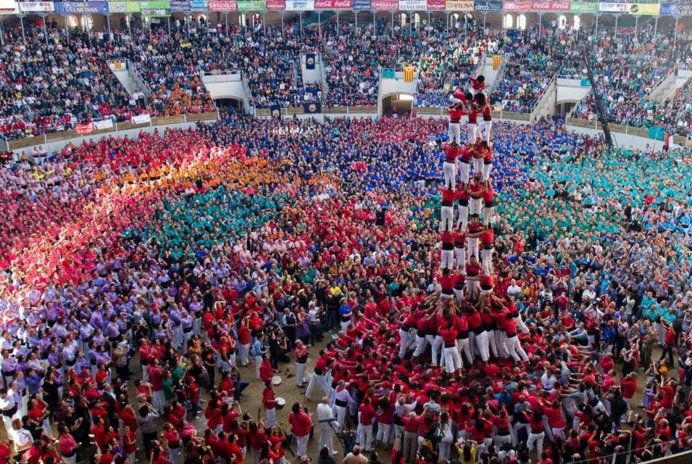 Concurs de Castells, Tarragona, Spain