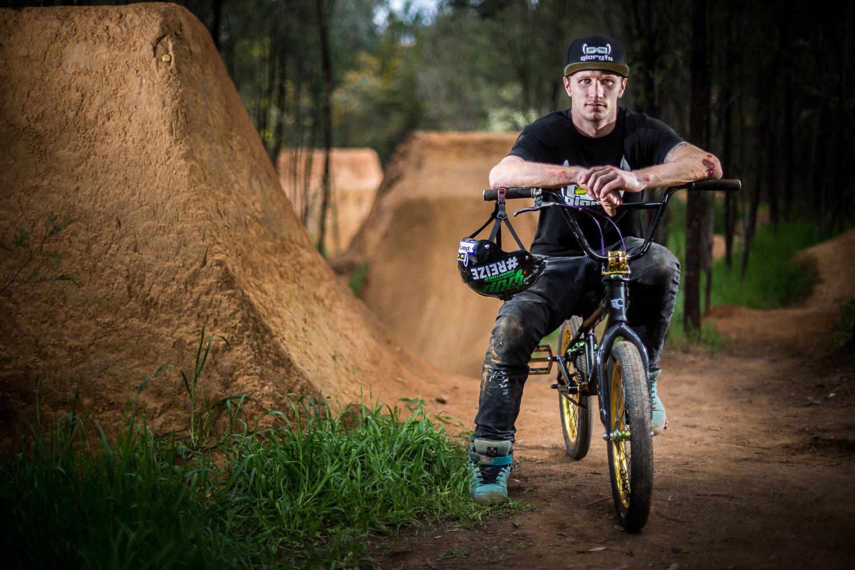 Rhys Kember, BMX rider