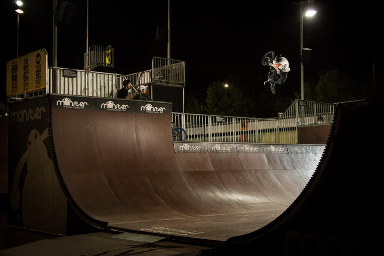 Chris Nicol, Monster Skatepark, Sydney, Australia