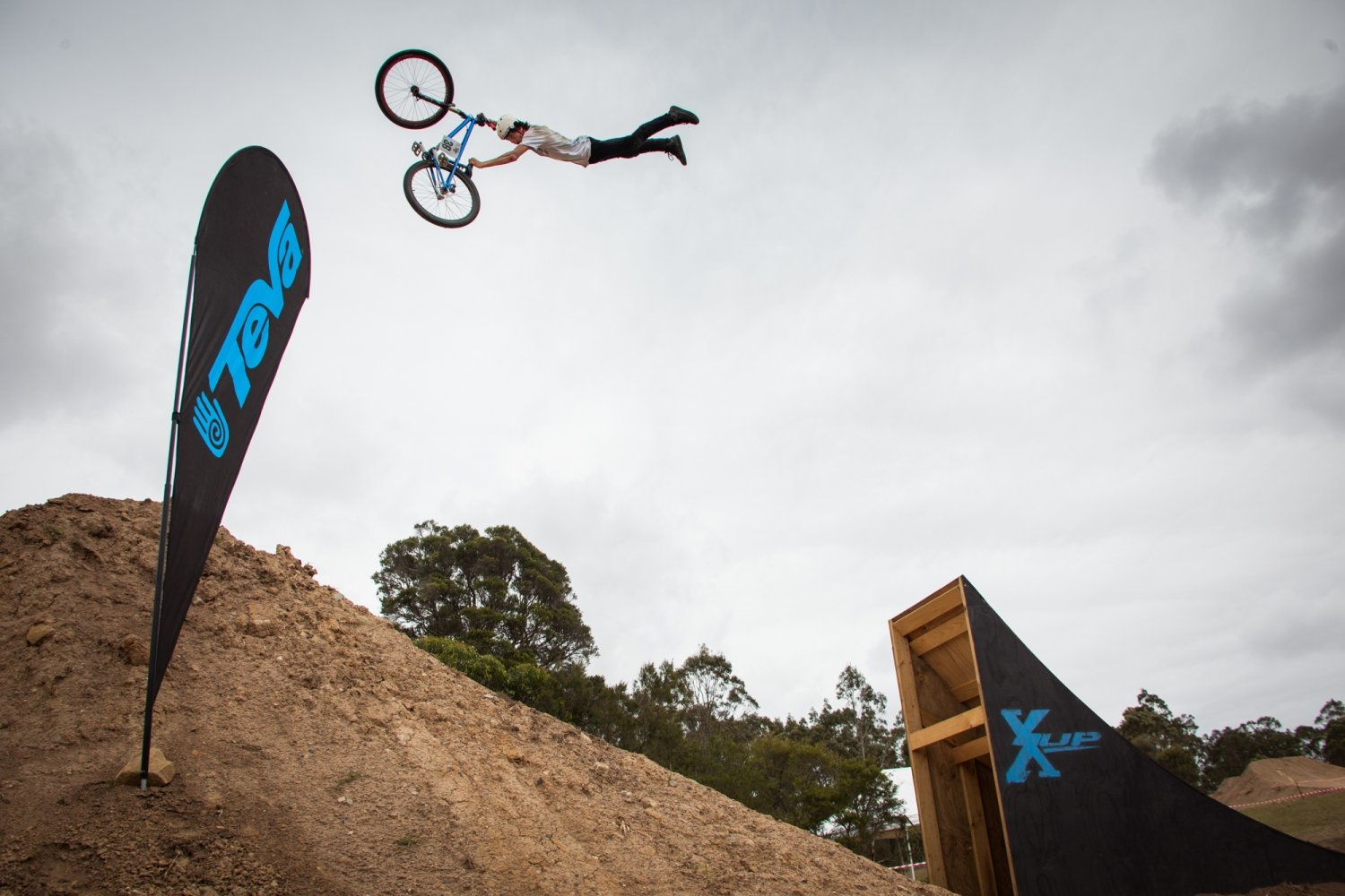 Lewis Jones at the X-up Freeride Festival in Australia.
